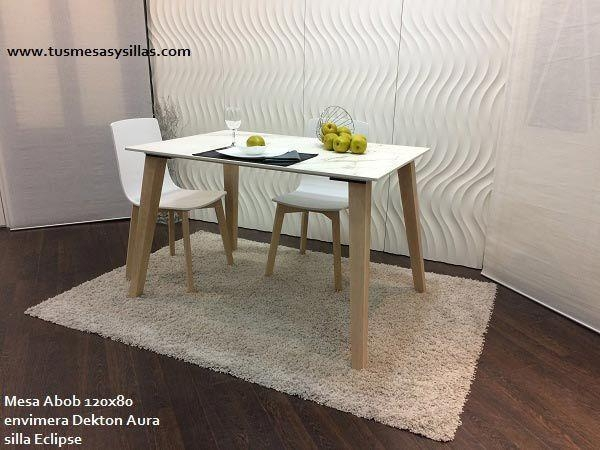 20 Best Mesa Cocina Estilo Nordico En Madera Y Blanco Fijas O Throughout Dining Tables 120X (Image 5 of 20)