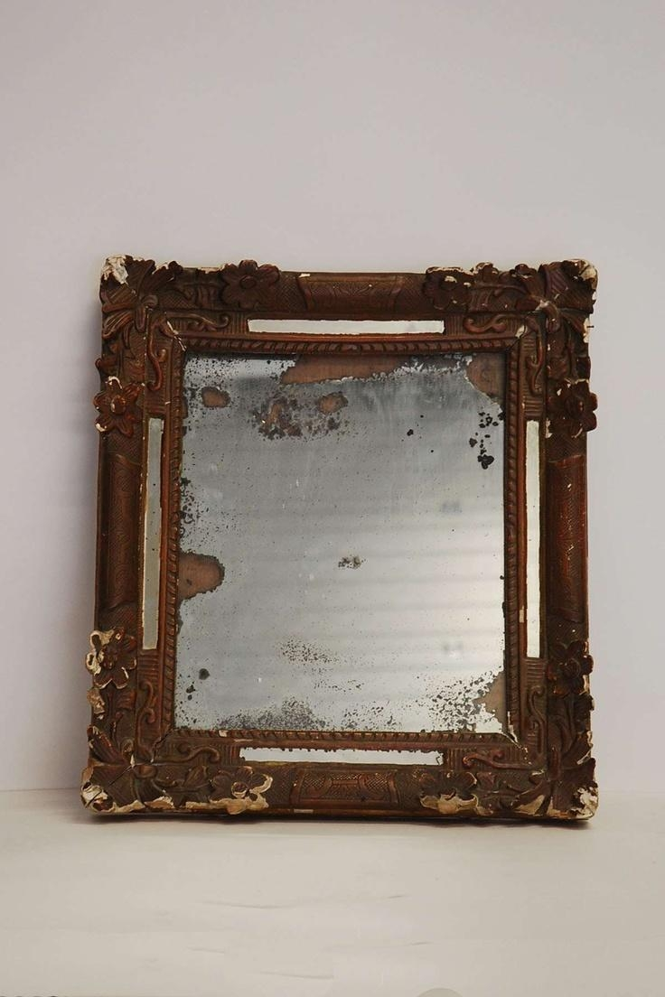 20 Best Mirror Mirror Images On Pinterest | Mirror Mirror, Mirrors Inside Distressed Framed Mirror (Image 1 of 20)