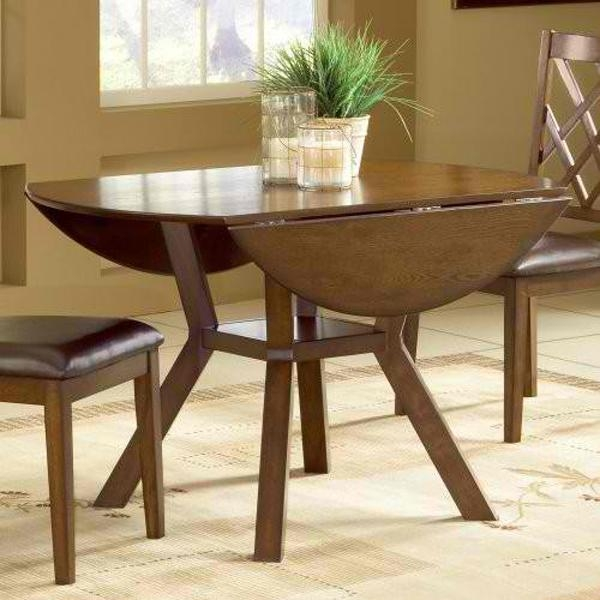 20 Pretty Wooden Oval Drop Leaf Dining Tables | Home Design Lover In Cheap Drop Leaf Dining Tables (View 8 of 20)