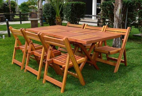 20 Varieties Of Rectangular Folding Outdoor Dining Tables | Home Pertaining To Folding Outdoor Dining Tables (Image 3 of 20)