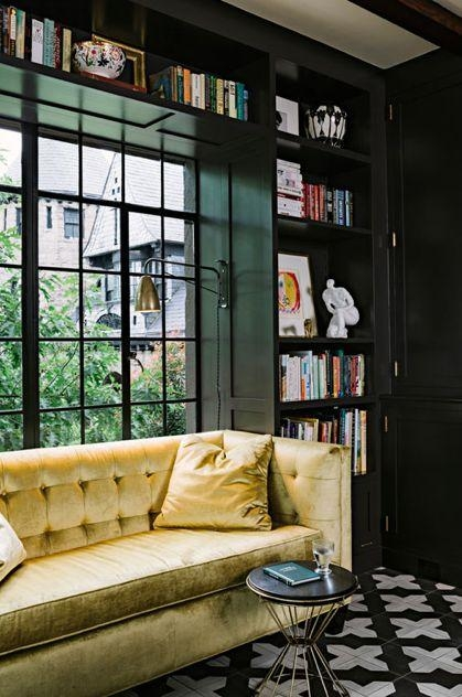 2014 – Heather Zerah Interiors Throughout Chartreuse Sofas (View 18 of 20)