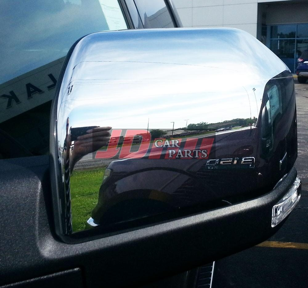 2016 Ford F150 F 150 F 150 Chrome Mirror Covers (2 Pieces Set) With Chrome Mirrors (View 8 of 20)