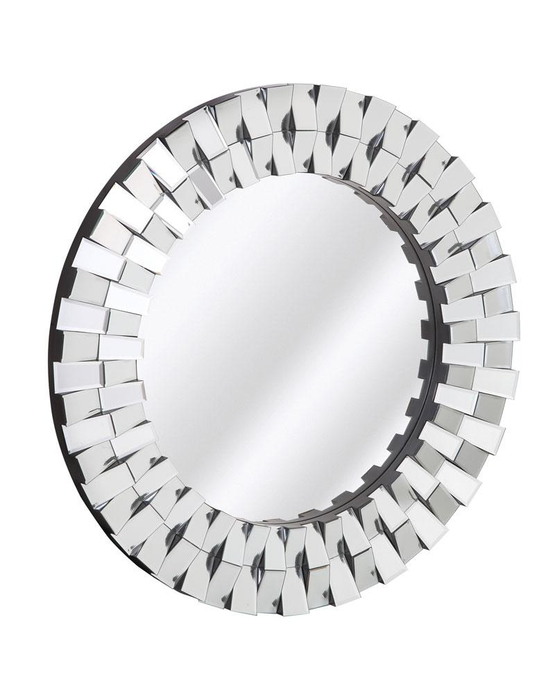 2051 P | Majestic Mirror & Frame For Designer Round Mirrors (Image 3 of 20)
