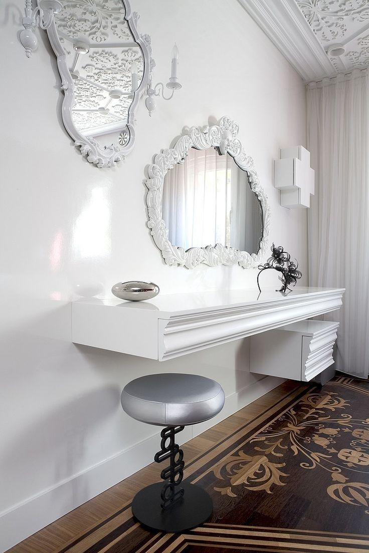 209 Best | Mirrors | Images On Pinterest | Mirror Mirror, Bathroom Pertaining To White Baroque Floor Mirror (Image 2 of 20)