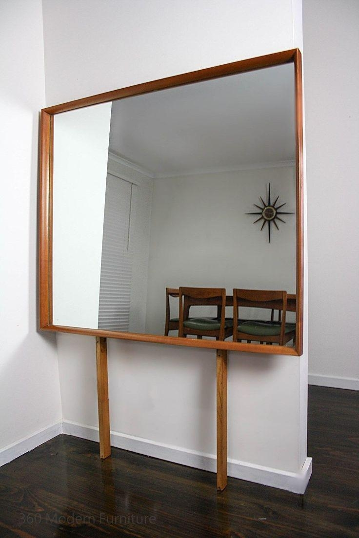 22 Best Mid Century Mirrors360 Modern Furniture Images On Within Retro Wall Mirrors (Image 3 of 20)