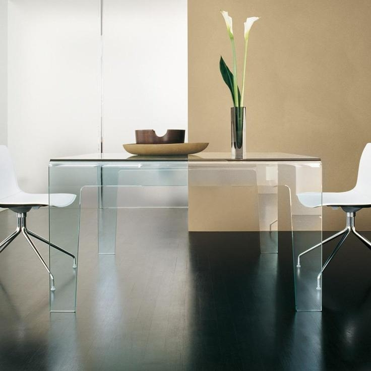 22 Best Sovet Glass Dining Tables Images On Pinterest | Glass With Regard To Curved Glass Dining Tables (Image 2 of 20)