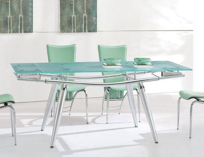 23 Best Extendable Glass Dining Table Images On Pinterest | Dining Within Extendable Glass Dining Tables (View 6 of 20)