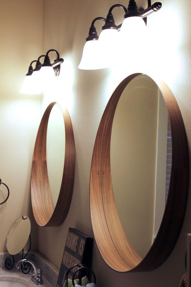 25+ Best Bathroom Mirrors Ideas On Pinterest | Framed Bathroom For Funky Round Mirrors (Image 3 of 20)