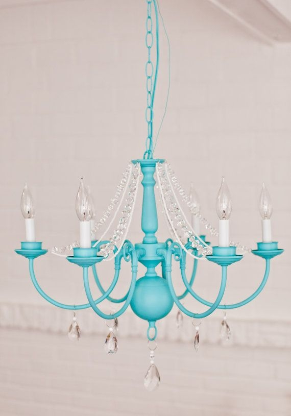 25 Best Blue Chandelier Ideas On Pinterest Octopus Decor In Turquoise Color Chandeliers (View 6 of 25)