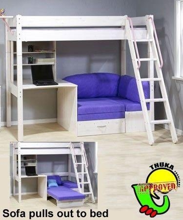 25+ Best Bunk Bed Desk Ideas On Pinterest | Bunk Bed With Desk Within Bunk Bed With Sofas Underneath (Image 1 of 20)