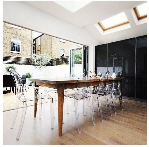 25+ Best Clear Chairs Ideas On Pinterest   Room Goals, Beauty For Clear Plastic Dining Tables (Image 1 of 20)