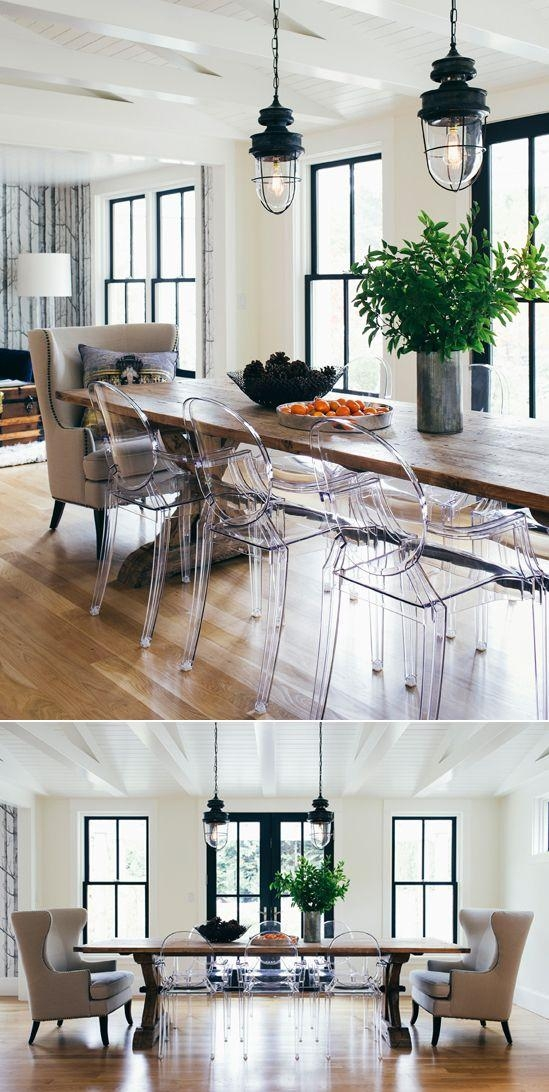 25+ Best Clear Chairs Ideas On Pinterest | Room Goals, Beauty Intended For Clear Plastic Dining Tables (View 20 of 20)