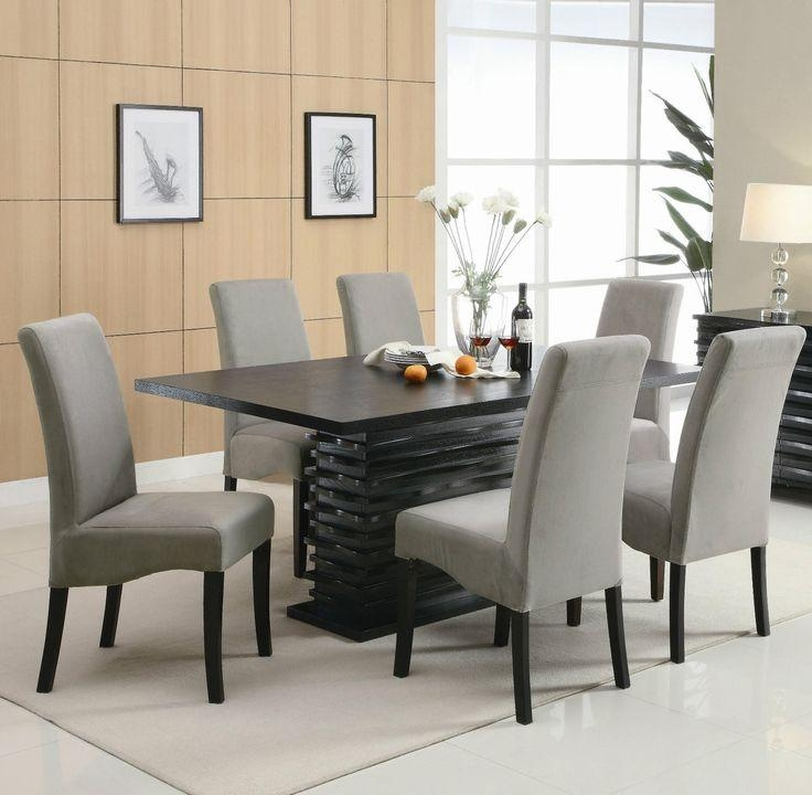 25+ Best Contemporary Dining Room Sets Ideas On Pinterest With Contemporary Dining Tables Sets (Image 1 of 20)