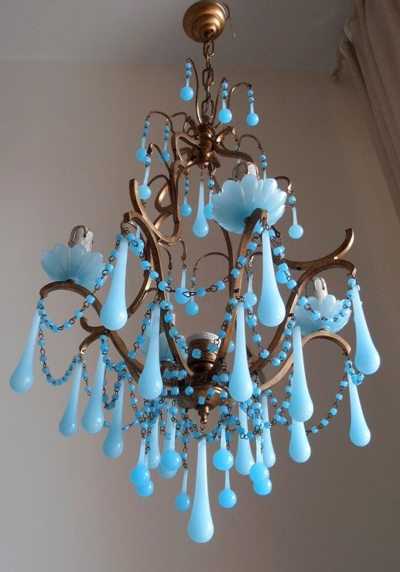 25 Best Crystal Lights Ideas On Pinterest Unique Lighting With Turquoise Gem Chandelier Lamps (Image 5 of 25)