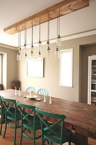 25+ Best Dining Light Fixtures Ideas On Pinterest | Dining Room With Regard To Lights For Dining Tables (Image 1 of 20)