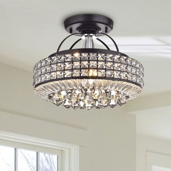25 Best Flush Mount Chandelier Ideas On Pinterest Chandelier In Wall Mount Crystal Chandeliers (View 11 of 25)