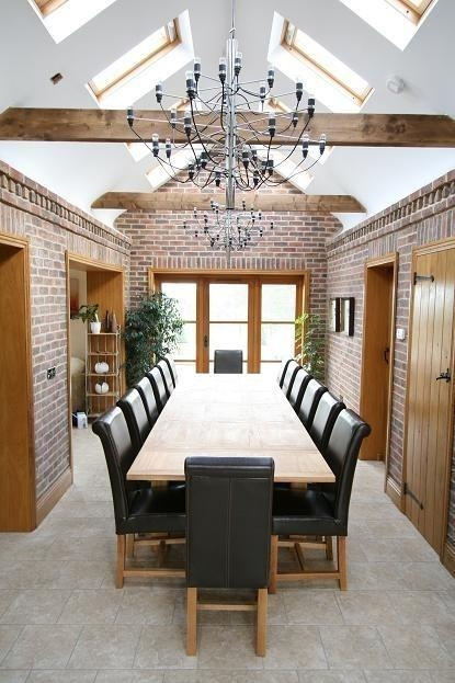 25+ Best Large Dining Tables Ideas On Pinterest | Large Dining Intended For Big Dining Tables For Sale (Image 1 of 20)