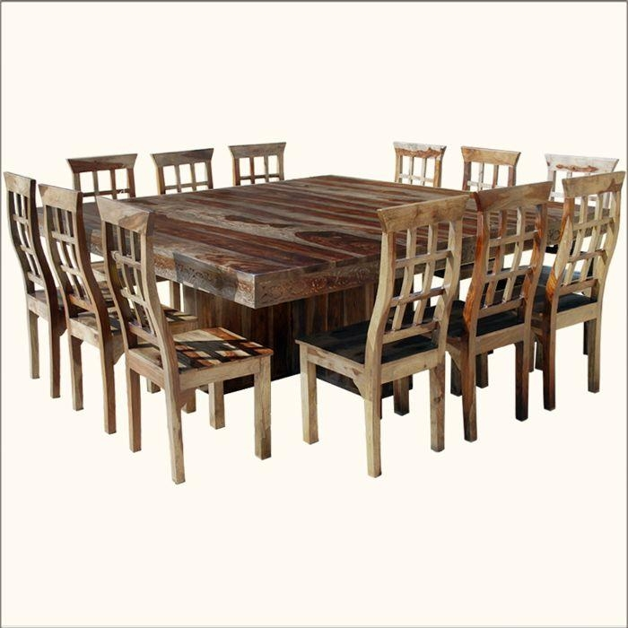 25+ Best Large Dining Tables Ideas On Pinterest | Large Dining Regarding Big Dining Tables For Sale (Image 2 of 20)
