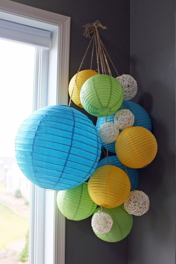 25 Best Paper Lantern Chandelier Ideas On Pinterest Paper Pertaining To Turquoise Lantern Chandeliers (View 4 of 25)