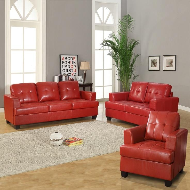 25+ Best Red Leather Couches Ideas On Pinterest | Red Leather For Dark Red Leather Couches (View 13 of 20)