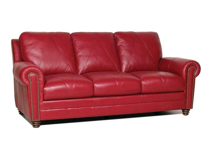 25+ Best Red Leather Couches Ideas On Pinterest | Red Leather In Dark Red Leather Sofas (Image 2 of 20)