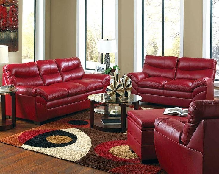 25+ Best Red Leather Couches Ideas On Pinterest | Red Leather Intended For Dark Red Leather Couches (View 19 of 20)