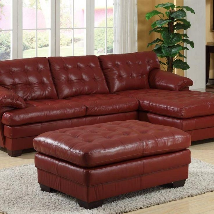 25+ Best Red Leather Couches Ideas On Pinterest | Red Leather Intended For Dark Red Leather Couches (View 3 of 20)