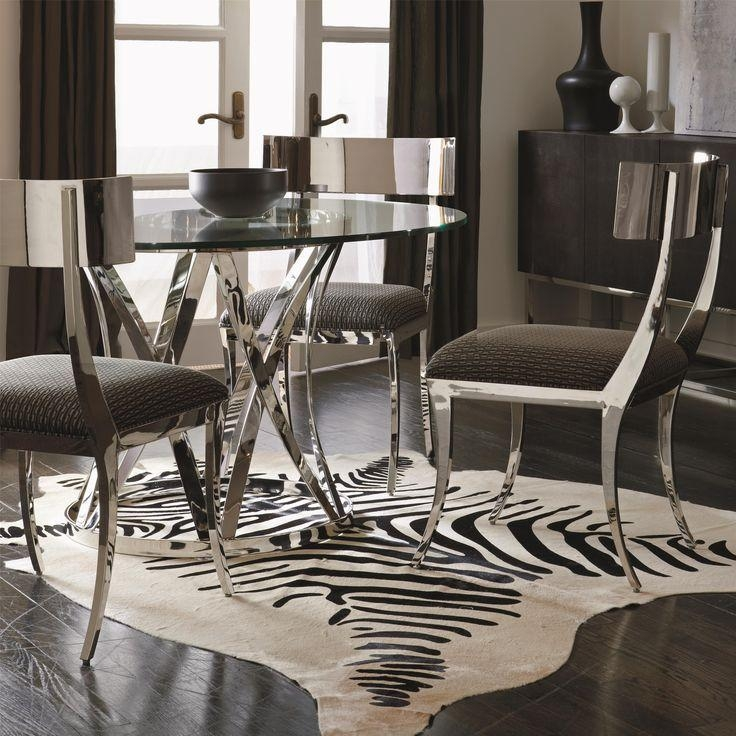 25+ Best Round Glass Table Top Ideas On Pinterest | Glass Table Within Sleek Dining Tables (Image 2 of 20)