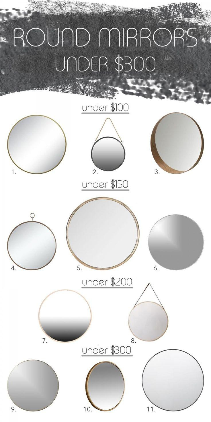 25+ Best Round Mirrors Ideas On Pinterest | Small Round Mirrors For Round Mirrors (View 17 of 20)