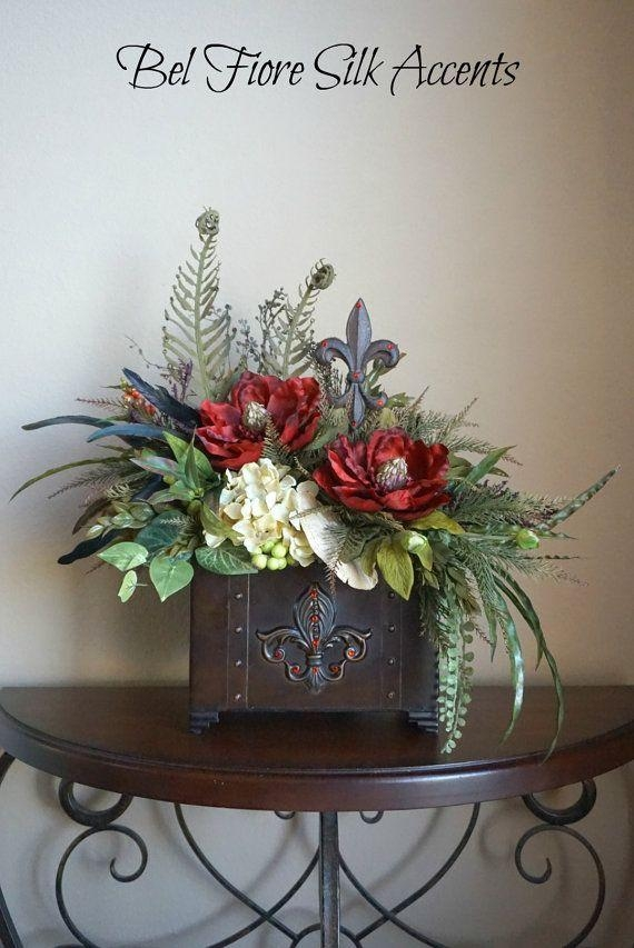 25+ Best Silk Flower Arrangements Ideas On Pinterest | Flower With Artificial Floral Arrangements For Dining Tables (Image 3 of 20)