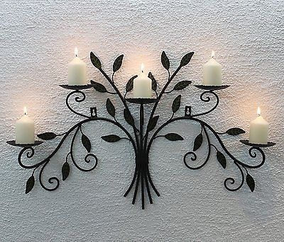 25 Best Wall Mounted Candle Holders Ideas On Pinterest Candle With Wall Mounted Candle Chandeliers (Image 8 of 25)