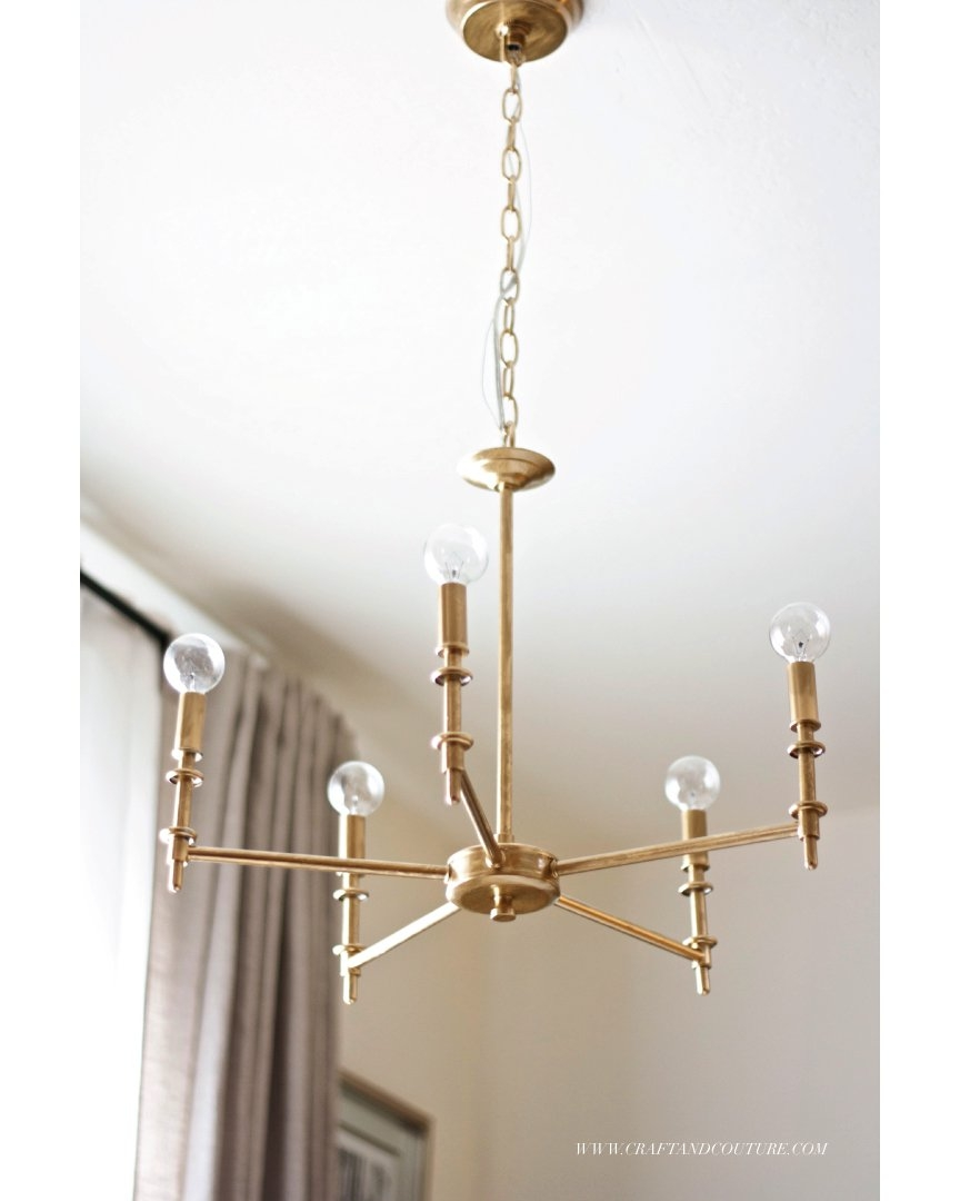 25 Diy Chandelier Ideas Make It And Love It Pertaining To Short Chandeliers (Image 3 of 25)