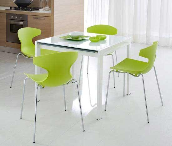 25 Small Dining Table Designs For Small Spaces – Inspirationseek With Green Dining Tables (Image 4 of 20)
