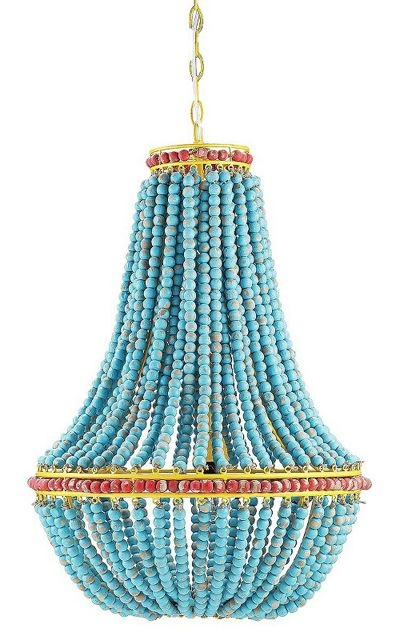 250 Best Lighting Love Images On Pinterest Chandeliers Lighting With Turquoise Beads SixLight Chandeliers (Image 1 of 25)