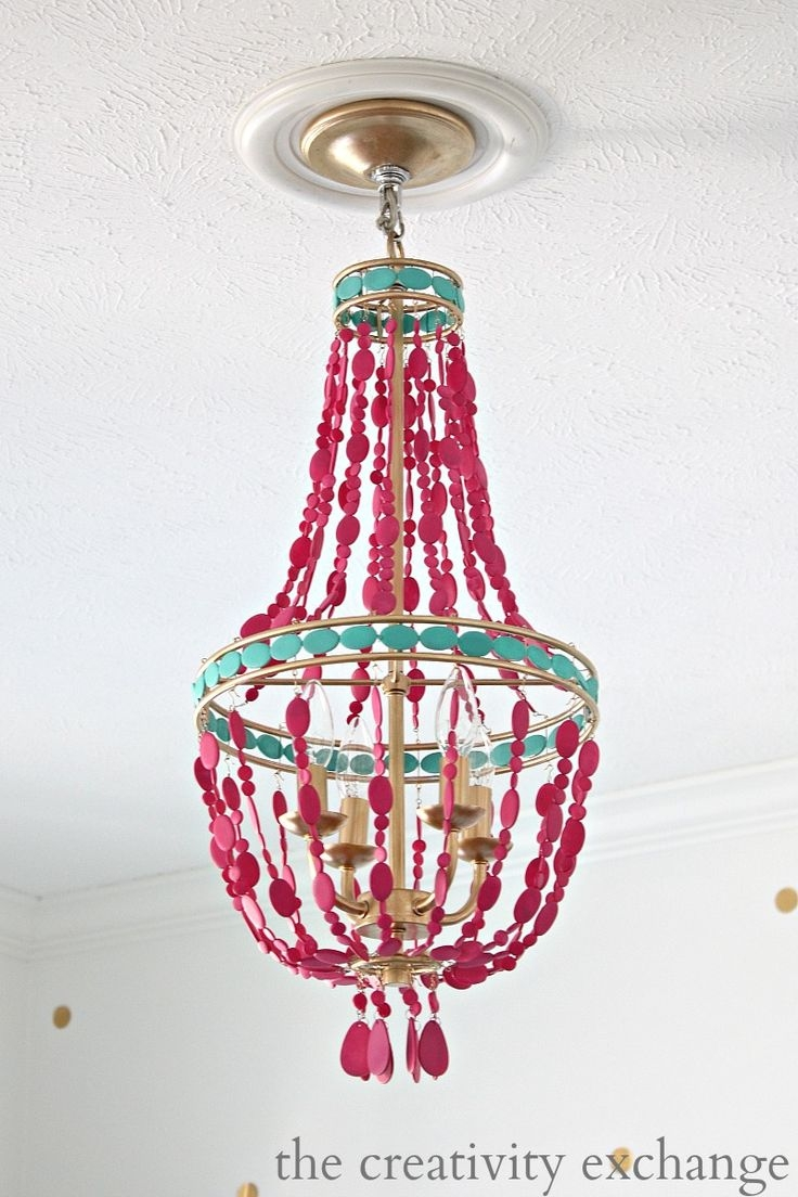 250 Best Lighting Love Images On Pinterest Chandeliers Lighting Within Small Turquoise Beaded Chandeliers (Image 3 of 25)