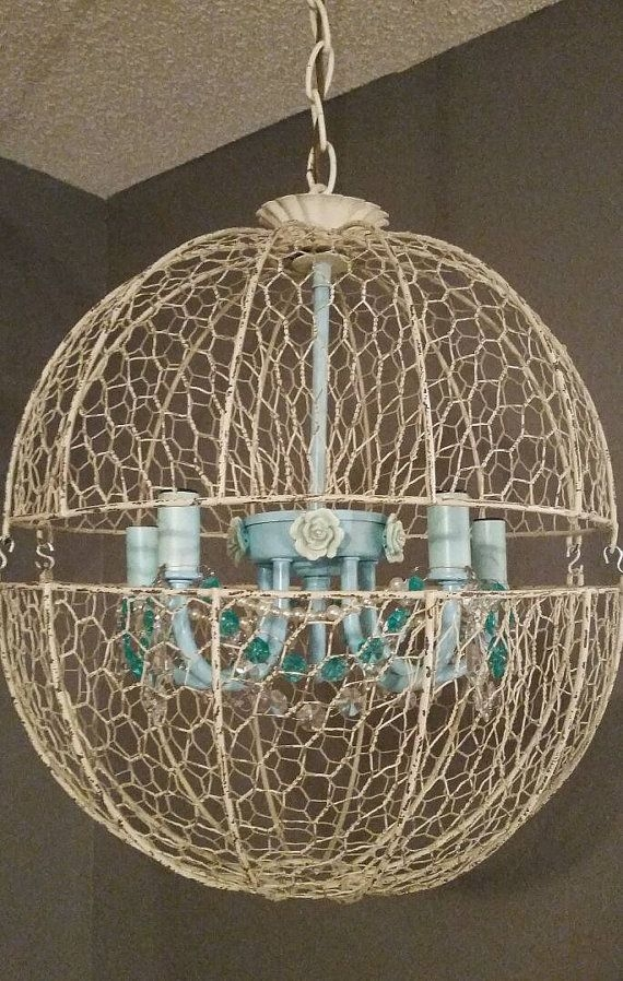 255 Best Chandeliers And Light Fixtures Images On Pinterest Within Turquoise Orb Chandeliers (Image 4 of 25)