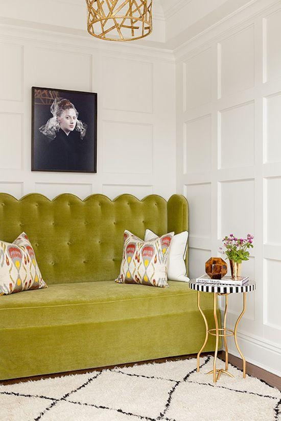 26 Best Colour Crush : Chartreuse Images On Pinterest | Green Sofa Inside Chartreuse Sofas (View 6 of 20)