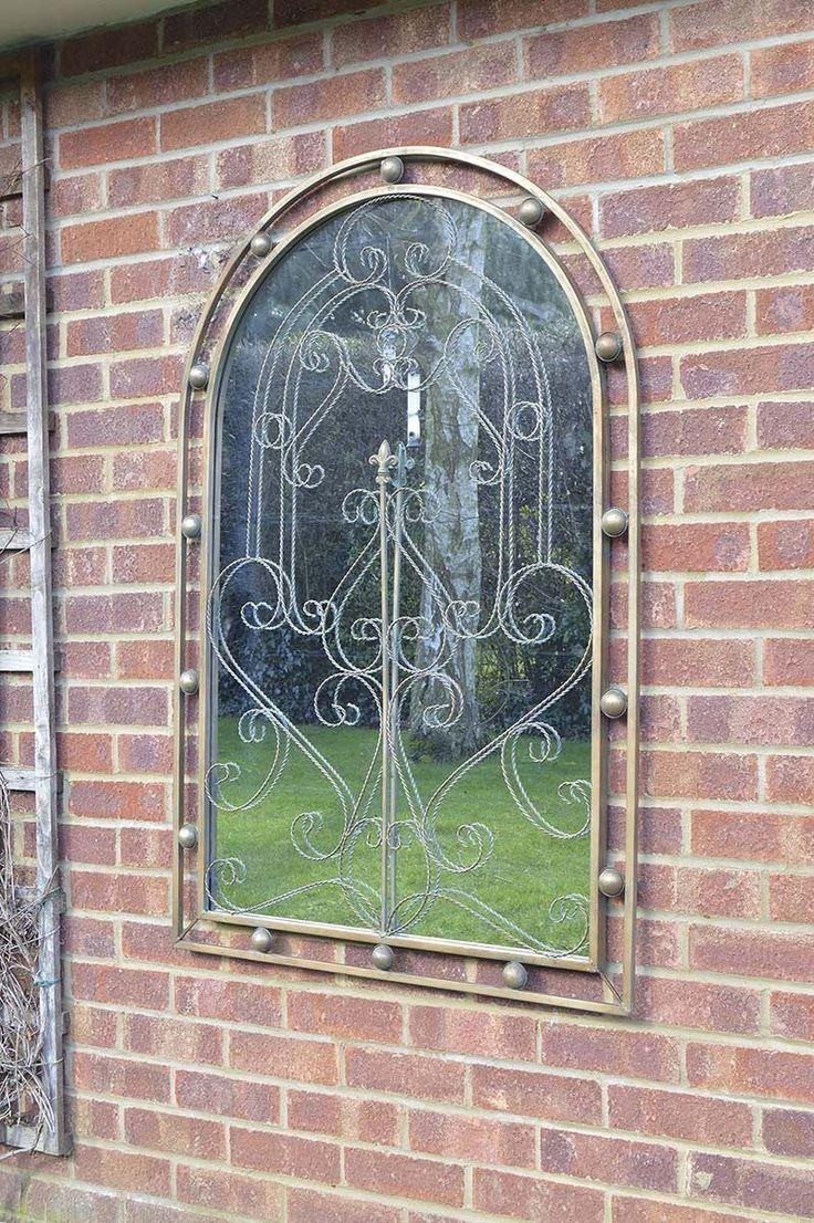 26 Best Garden Mirrors Images On Pinterest | Garden Mirrors, Wall Pertaining To Gothic Garden Mirrors (Image 1 of 20)