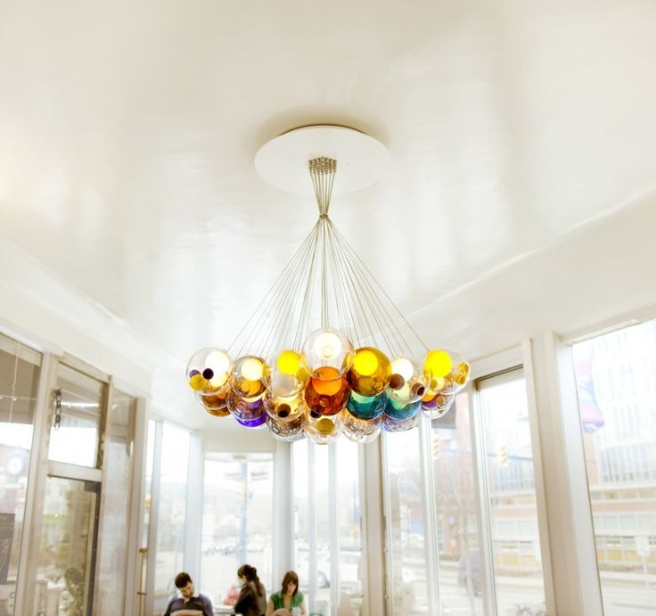 27 Best Chandelier Images On Pinterest With Regard To Turquoise Ball Chandeliers (Image 6 of 25)