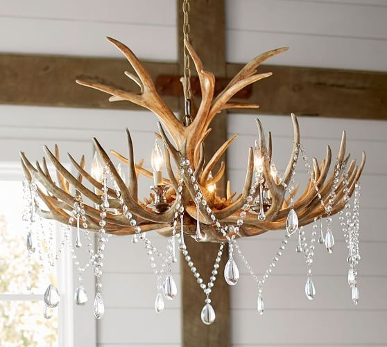 279 Best Rustic Lanternslightschandeliers Images On Pinterest Intended For Turquoise Antler Chandeliers (Image 3 of 25)
