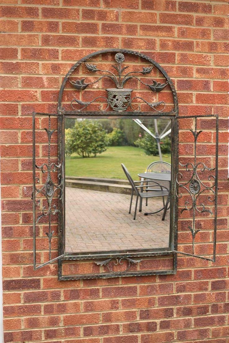 28 Best Mirrors Images On Pinterest | Wall Mirrors, Mirror Mirror Inside Garden Mirrors For Sale (Image 5 of 20)
