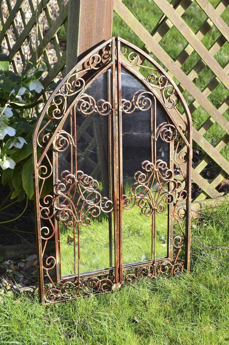 28 Best Mirrors Images On Pinterest | Wall Mirrors, Mirror Mirror Inside Gothic Garden Mirrors (Image 3 of 20)