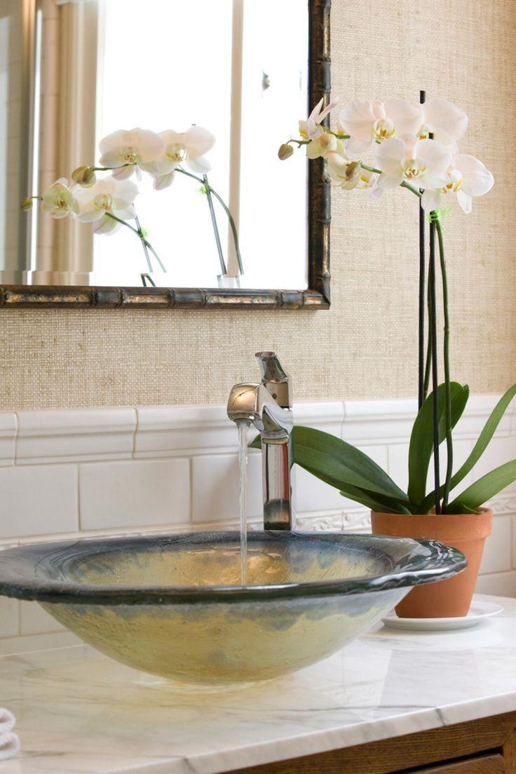 29 Best Decorative Sinks Images On Pinterest | Bathroom Ideas Inside Retro Bathroom Mirror (Image 3 of 20)