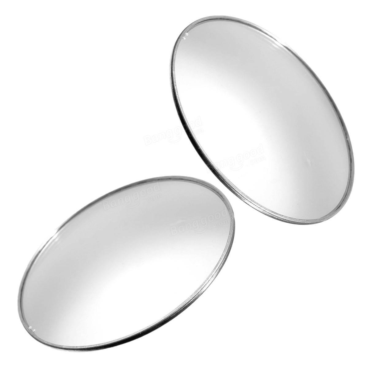 3 Inch Car Blind Spot Rear View Mirrors Wide Angle Round Convex With Round Convex Mirror (Image 1 of 20)