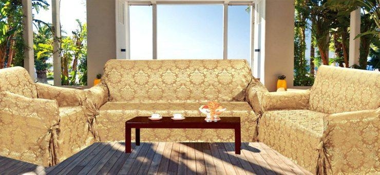 3 Piece Sofa Cover Slipcovers For Sectional Couches 3 Piece Sofa Inside 3 Piece Slipcover Sets (Image 4 of 20)