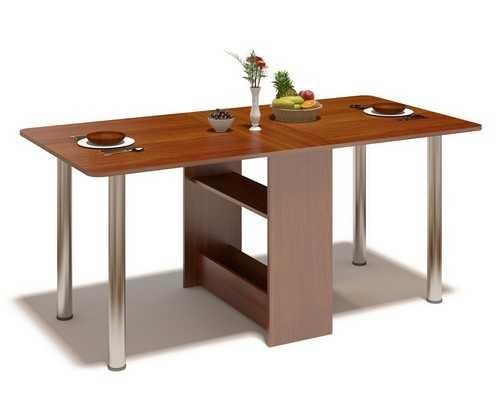 30 Space Saving Folding Table Design Ideas For Functional Small Rooms With Large Folding Dining Tables (Image 3 of 20)