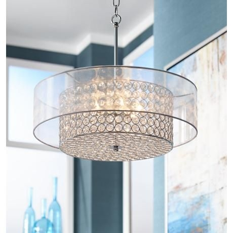 32 Best Lighting Images On Pinterest In Turquoise Drum Chandeliers (Image 7 of 25)