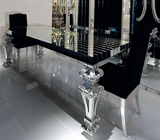 328 Best Modern Dining Table Sets Images On Pinterest | Dining Within Mirror Glass Dining Tables (View 5 of 20)