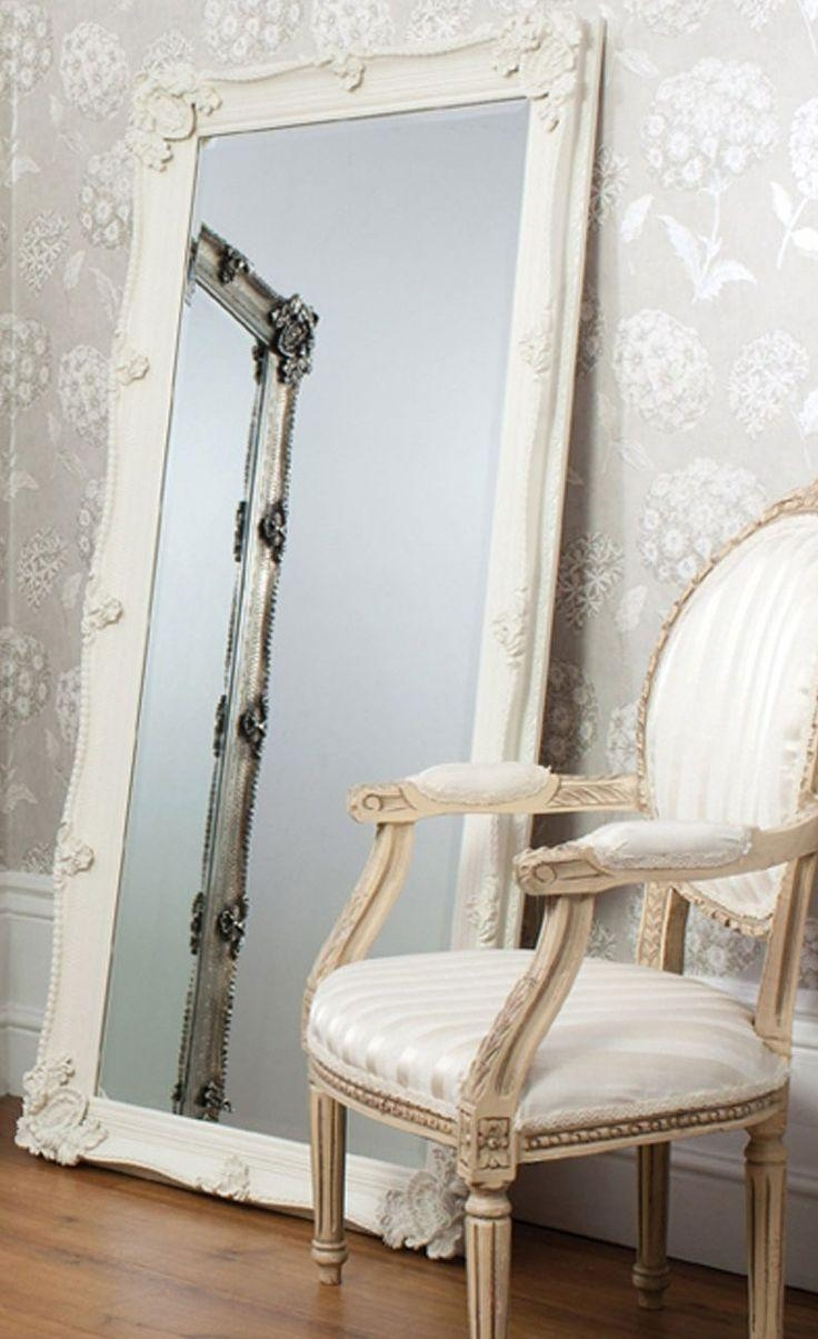 33 Best Mirrors Images On Pinterest | Wall Mirrors, Antique Silver Intended For Long Antique Mirror (Image 2 of 20)
