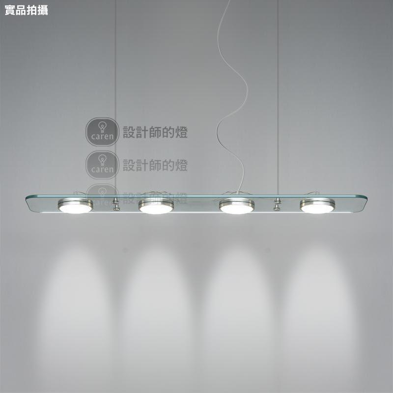 3/4 Crystal Led Lights 73/98Cm Alunimun Glass Pendant Lighting Throughout Led Dining Tables Lights (Image 2 of 20)